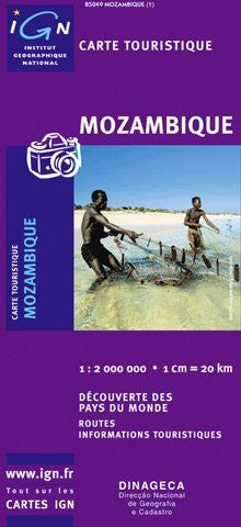 us topo - Mozambique - Wide World Maps & MORE! - Book - Institut Geographique National - Wide World Maps & MORE!