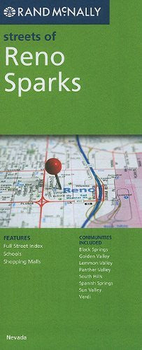 Streets of Reno Sparks (Rand McNally Streets Of...)