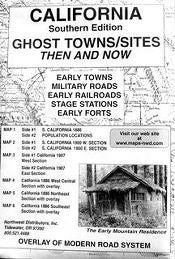 us topo - California, South Ghost Towns 6 Maps Then & Now - Wide World Maps & MORE! - Book - Northwest - Wide World Maps & MORE!