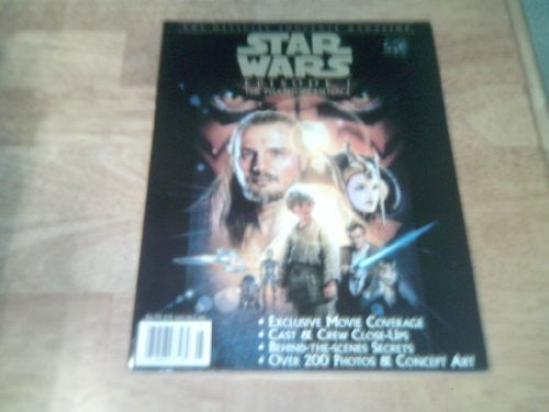 Star Wars Episode 1 the Phantom Menace Official Souvenir Magazine