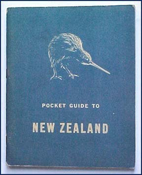 Pocket Guide to New Zealand 1944