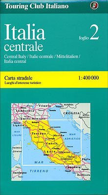 Italy: Centre (Regional Maps) - Wide World Maps & MORE! - Book - Wide World Maps & MORE! - Wide World Maps & MORE!