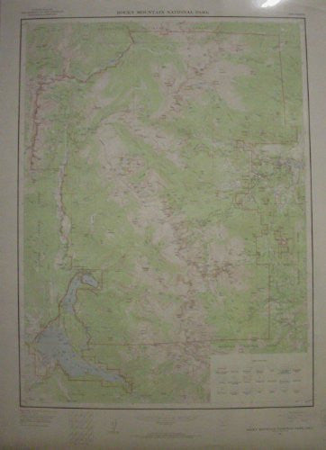 us topo - Rocky Mountain National Park, Colorado (TCO1649) - Wide World Maps & MORE! - Book - Wide World Maps & MORE! - Wide World Maps & MORE!