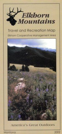 Elkhorn Mountains Travel and Recreation Map