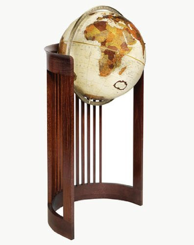 Replogle Globes Barrel Globe, Bronze Metallic Finish, 16-Inch Diameter
