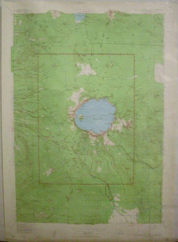 us topo - Crater Lake National Park and Vicinity, Oregon (TOR0301) (TOR0301) - Wide World Maps & MORE! - Book - Wide World Maps & MORE! - Wide World Maps & MORE!