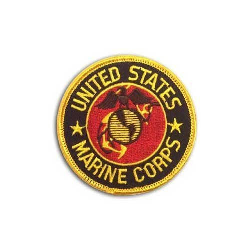 US Flag Store Marine Patch - Wide World Maps & MORE! - Lawn & Patio - US Flag Store - Wide World Maps & MORE!