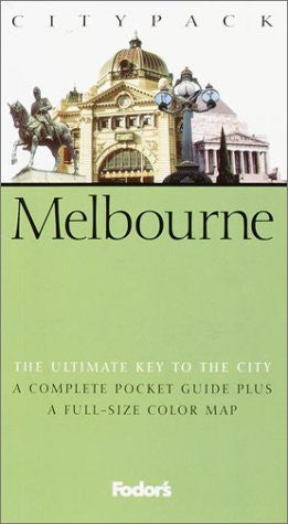 us topo - Fodor's Citypack Melbourne, 1st Edition (Citypacks) - Wide World Maps & MORE! - Book - Brand: Fodor's - Wide World Maps & MORE!