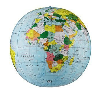 us topo - 12 Pack REPLOGLE GLOBES POLITICAL-INFLATE GLOBE 16 ES 16 - Wide World Maps & MORE! - Office Product - REPLOGLE GLOBES - Wide World Maps & MORE!