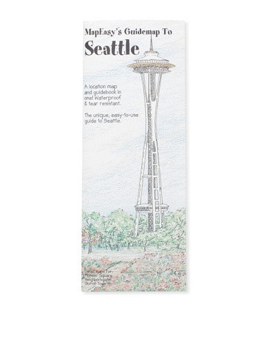 MapEasy's Guidemap to Seattle