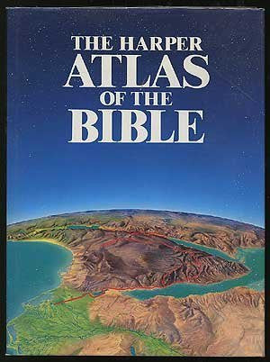 The Harper Atlas of the Bible - Wide World Maps & MORE! - Book - Wide World Maps & MORE! - Wide World Maps & MORE!