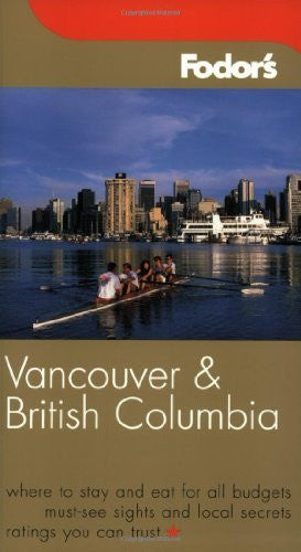 us topo - Fodor's Vancouver and British Columbia, 4th Edition (Fodor's Gold Guides) - Wide World Maps & MORE! - Book - Brand: Fodor's - Wide World Maps & MORE!