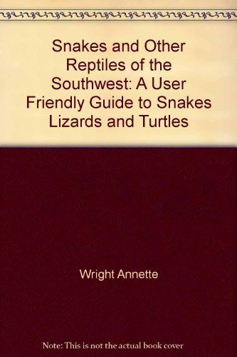 Snakes and Other Reptiles of the Southwest - Wide World Maps & MORE! - Book - Brand: Golden West Publishers - Wide World Maps & MORE!