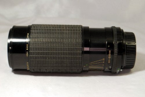 Sigma High-Speed Zoom Multi-Coated 80-200mm Lens