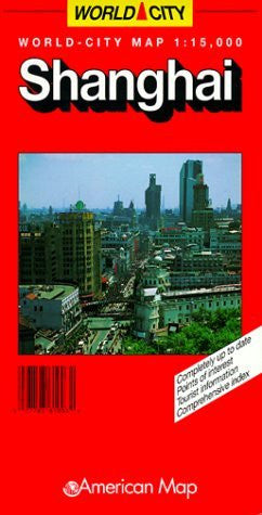 us topo - Shanghai: World-City Map - Wide World Maps & MORE! - Book - Wide World Maps & MORE! - Wide World Maps & MORE!