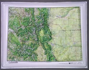 us topo - American Educational Products K-Co2217 Colorado Ncr Series Map - Wide World Maps & MORE! - Book - American Educational Products - Wide World Maps & MORE!