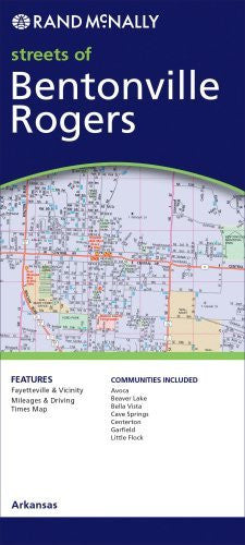 us topo - Streets of Bentonville, Rogers (Rand McNally Streets Of...) - Wide World Maps & MORE! - Book - Wide World Maps & MORE! - Wide World Maps & MORE!