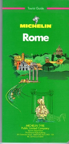 Michelin Green Tourist Guide Rome, 1995.