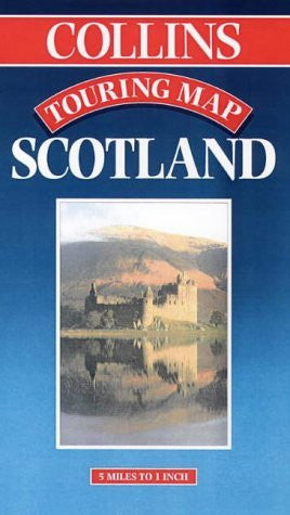 Collins Scotland Touring Map