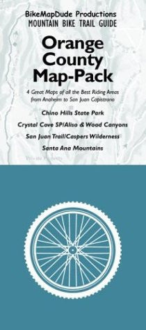 BikeMapDude Productions Mountain Bike Trail Guides: The Orange County Map-Pack - Wide World Maps & MORE! - Book - Wide World Maps & MORE! - Wide World Maps & MORE!