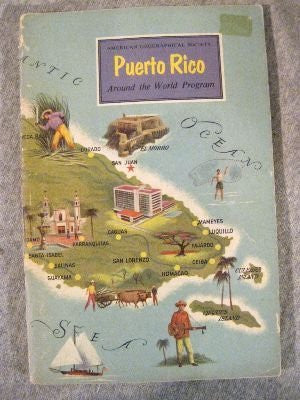 Puerto Rico (American Geographical Society) (Around the World Program) - Wide World Maps & MORE! - Book - Wide World Maps & MORE! - Wide World Maps & MORE!