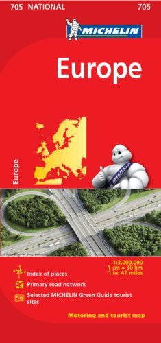 Michelin Europe Map 705 (Maps/Country (Michelin))