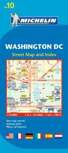 us topo - Michelin Washington DC Map 10 (Maps/City (Michelin)) - Wide World Maps & MORE! - Book - Michelin Travel & Lifestyle (COR) - Wide World Maps & MORE!