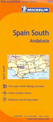 Michelin Spain South: Andalusia Michelin Spain South - Wide World Maps & MORE! - Book - Michelin Travel Pubns - Wide World Maps & MORE!