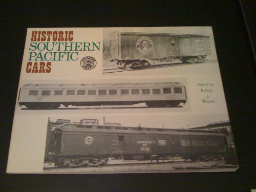 Historic Southern Pacific Cars - Wide World Maps & MORE! - Book - Wide World Maps & MORE! - Wide World Maps & MORE!