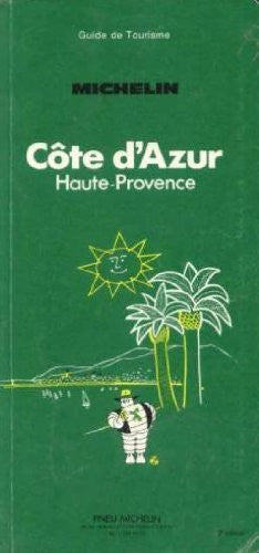Michelin Green Guide: Cote d'Azur (French Edition)
