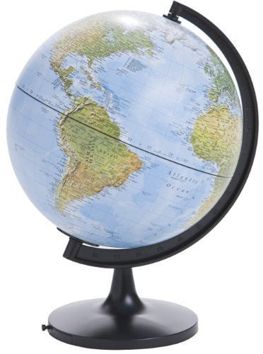 us topo - Blue Ocean Physical Globe - 11 in. Dia - Wide World Maps & MORE! - Home - Hema Maps - Wide World Maps & MORE!