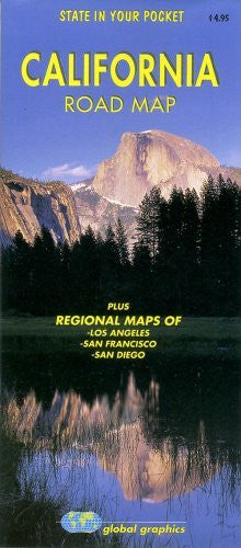us topo - California Road Map - Wide World Maps & MORE! - Book - Global Graphics - Wide World Maps & MORE!