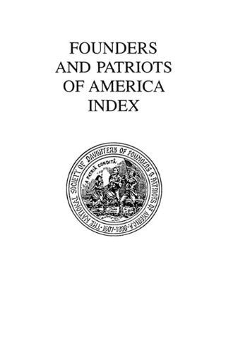 Founders and Patriots of America Index