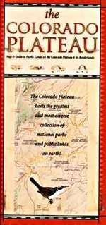 Colorado Plateau: Map & Guide to Public Lands on the Colorado Plateau & Its Borderland - Wide World Maps & MORE! - Book - Time Traveler Maps - Wide World Maps & MORE!