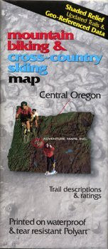 Central Oregon - Wide World Maps & MORE! - Book - Wide World Maps & MORE! - Wide World Maps & MORE!