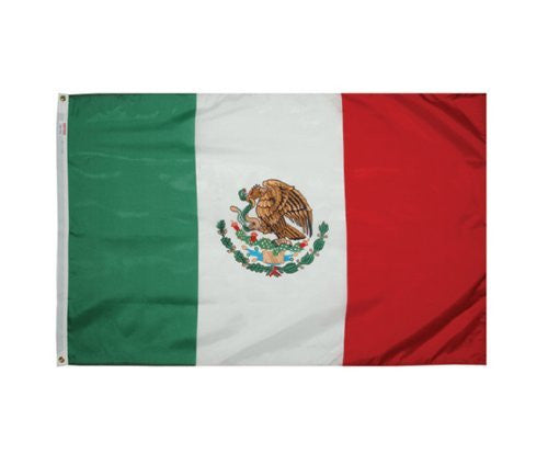 us topo - Valley Forge Flag 3-Foot by 5-Foot Nylon Mexico Flag - Wide World Maps & MORE! - Lawn & Patio - Valley Forge Flag - Wide World Maps & MORE!