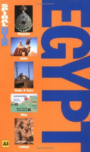Egypt (AA Spiral Guides) - Wide World Maps & MORE! - Book - Wide World Maps & MORE! - Wide World Maps & MORE!