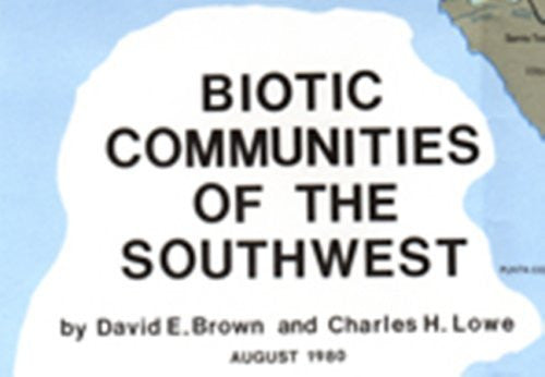 us topo - Biotic Communities Of Southwest - Wide World Maps & MORE! - Book - Wide World Maps & MORE! - Wide World Maps & MORE!