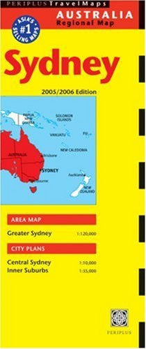 Sydney Travel Map: 2005/2006 Edition (Periplus Travel Maps) (Australia Regional Maps) - Wide World Maps & MORE! - Book - Wide World Maps & MORE! - Wide World Maps & MORE!