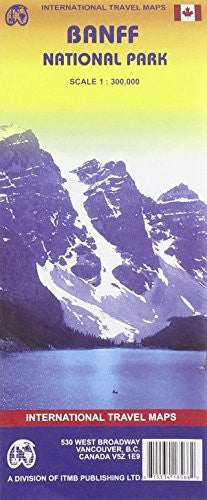 us topo - Banff National Park (Canada) 1:300,000 Recreation Map (International Travel Maps) - Wide World Maps & MORE! - Book - International - Wide World Maps & MORE!