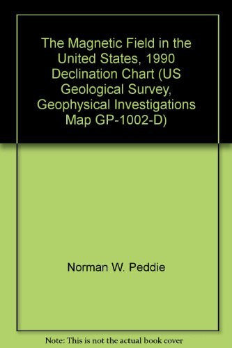 us topo - The Magnetic Field in the United States, 1990 Declination Chart (US Geological Survey, Geophysical Investigations Map GP-1002-D) - Wide World Maps & MORE! - Book - Wide World Maps & MORE! - Wide World Maps & MORE!