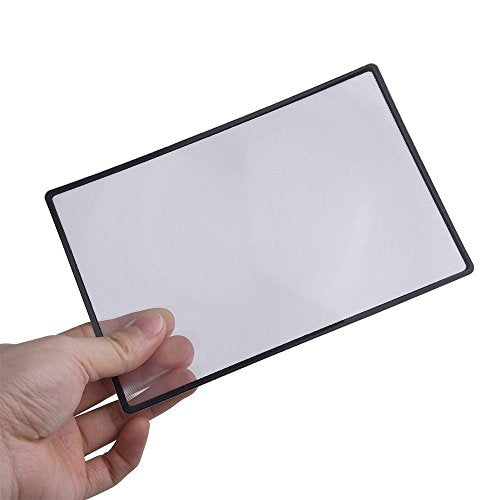"4.5"" x 7"" Flexible 200% Magnifier Sheet"