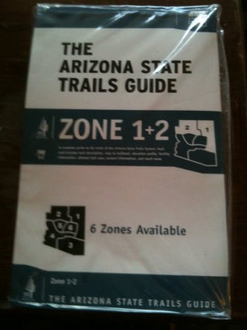 us topo - The Arizona State Trails Guide (Zone 1 + 2) - Wide World Maps & MORE! - Book - Wide World Maps & MORE! - Wide World Maps & MORE!