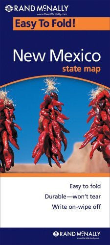 Rand McNally Easy To Fold: New Mexico (Laminated) - Wide World Maps & MORE! - Book - Rand McNally - Wide World Maps & MORE!
