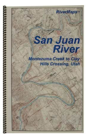 us topo - Guide to the San Juan River - Wide World Maps & MORE! - Book - RiverMaps - Wide World Maps & MORE!