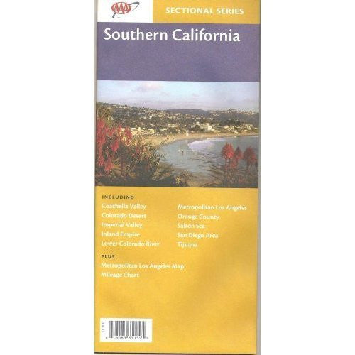 Southern California Folding Map (Sectional Series)