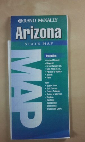 Rand McNally Arizona State: Map (State Maps-USA) - Wide World Maps & MORE! - Book - Wide World Maps & MORE! - Wide World Maps & MORE!