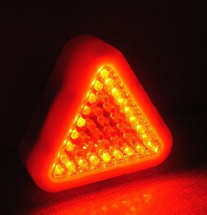 39 LED Red-Orange Vehicle Caution Signal & Worklight