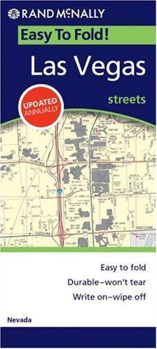 us topo - Easy Finder Map Las Vegas (Easyfinder S) - Wide World Maps & MORE! - Book - Rand McNally - Wide World Maps & MORE!