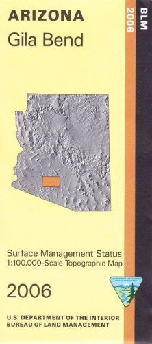 us topo - Gila Bend Arizona 1:100,000 Scale Topo Map Surface Management BLM 30x60 Minute Quad - Wide World Maps & MORE! - Book - Wide World Maps & MORE! - Wide World Maps & MORE!